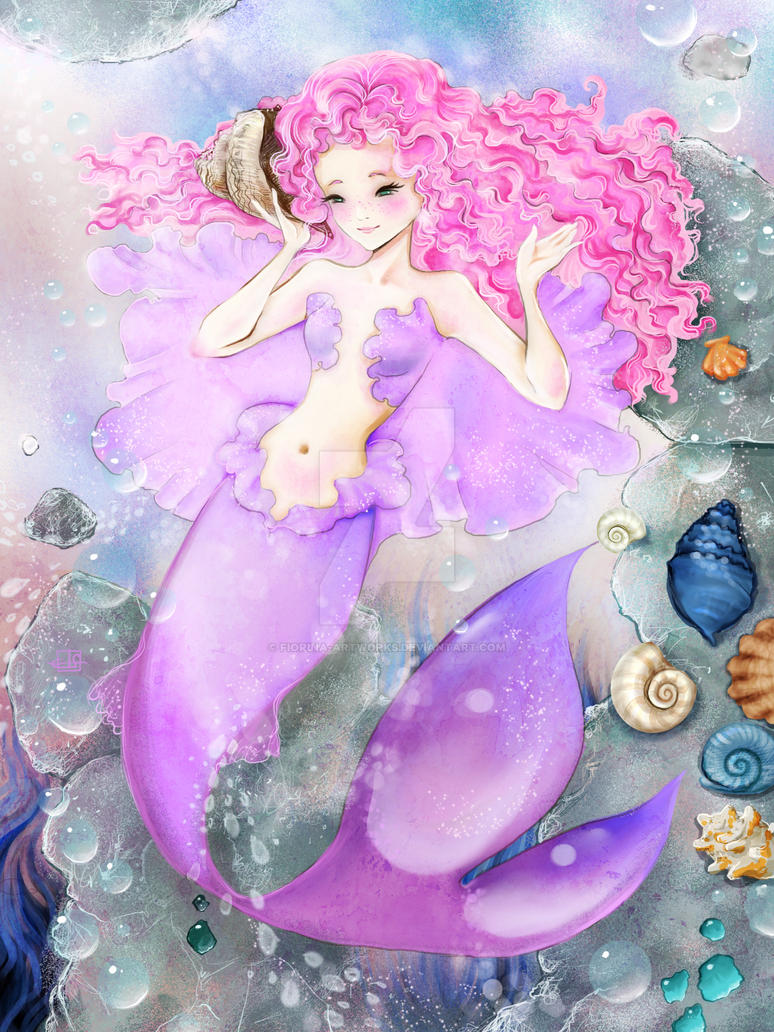 Audiobook Mermaid by Fiorina-Artworks