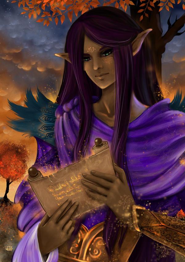 Dark Elf by Fiorina-Artworks