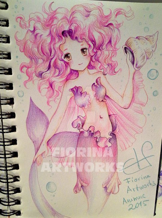 Animuc Mermaid 03 by Fiorina-Artworks