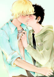 Kissing Day by Fiorina-Artworks