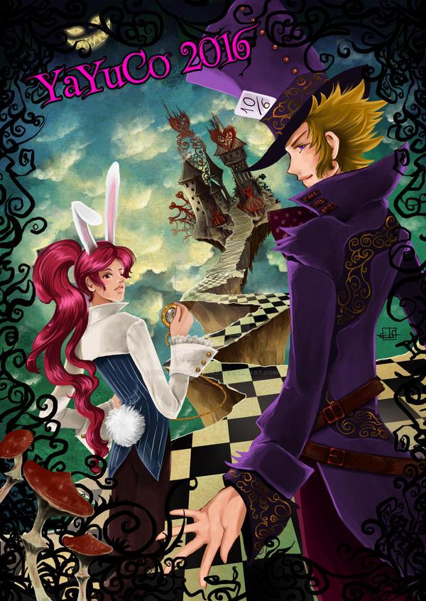 Hou and Chou in Wonderland