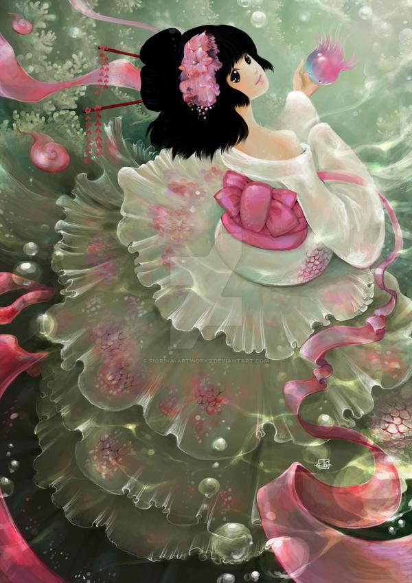 Koi by Fiorina-Artworks