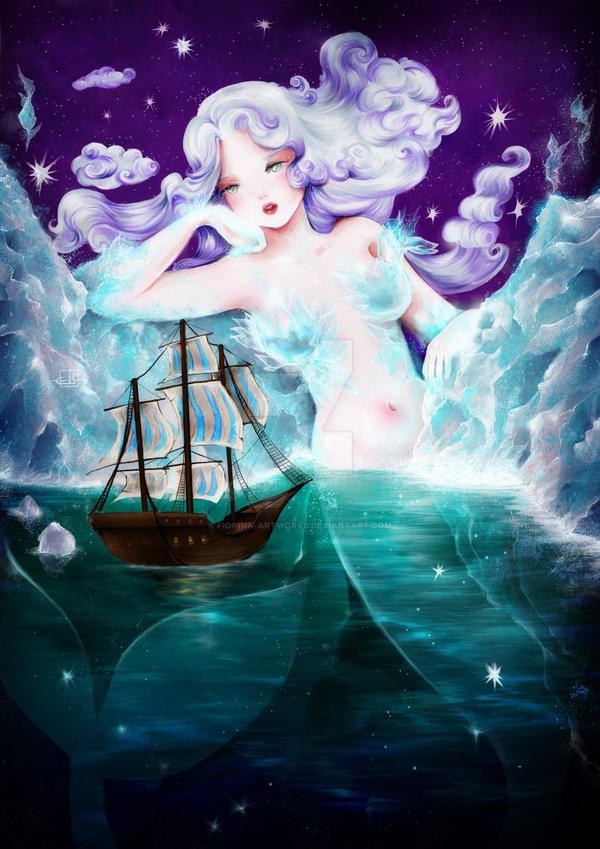 Polar Mermaid by Fiorina-Artworks