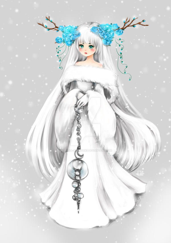 Winter Child by Fiorina-Artworks