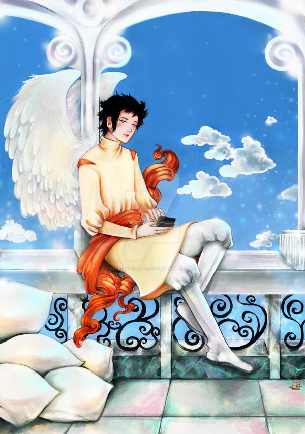 Heavenly Tweets by Fiorina-Artworks