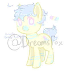 Pastel Pony Auction #1 | (Points and Paypal)
