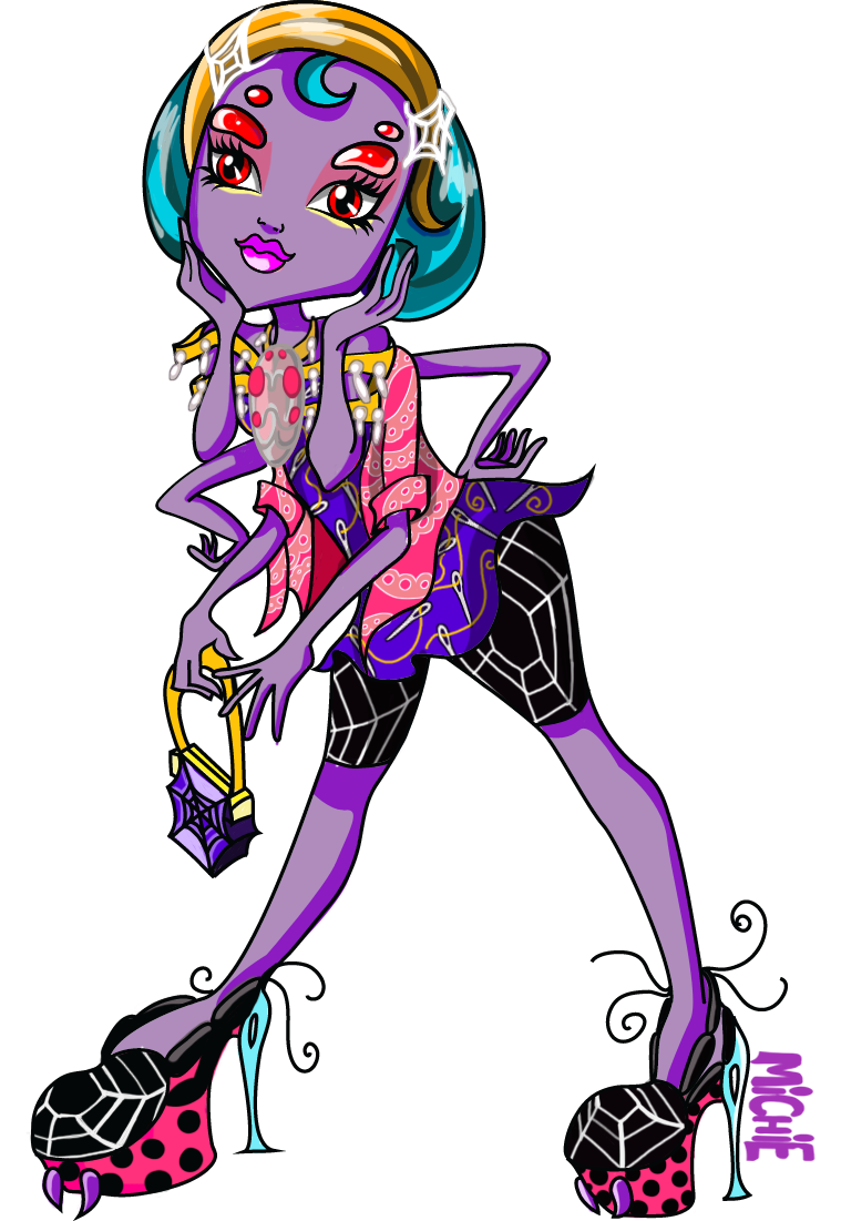 Blake Widow - Monster High OC by mi-chie