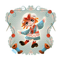 Raggedy Ann by mi-chie