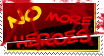 No more heroes forever stamp by moomadesign