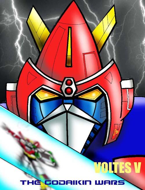 Voltes V The Godaikin Wars By Bdy On Deviantart