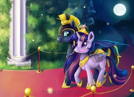 Moonlit Stroll by zephyr093