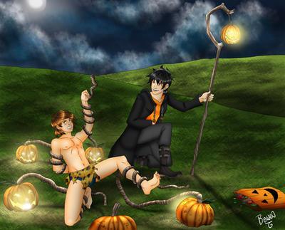 Revenge of the Halloween spirit by draculablade