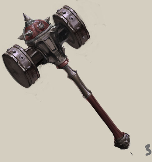 Hammer of war by AnSacredsnow