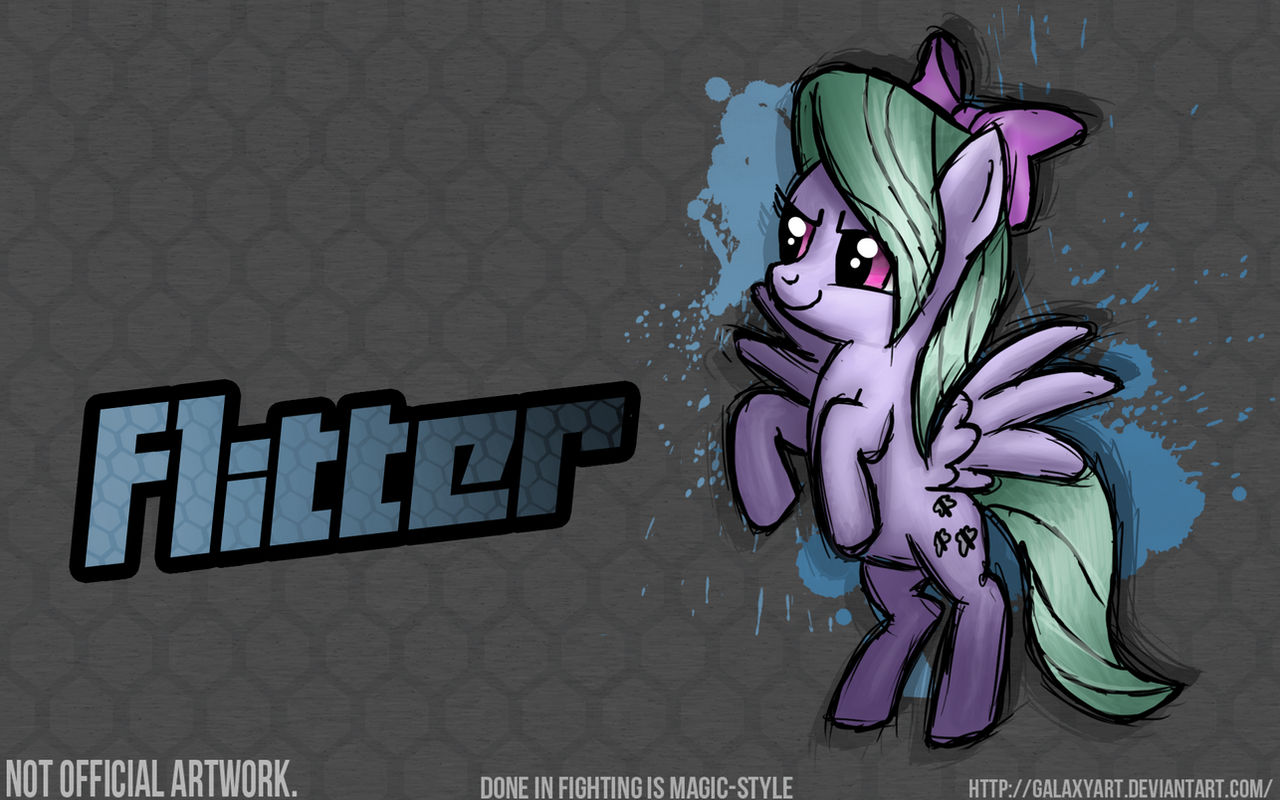 Fighting is Magic - Flitter *Commission