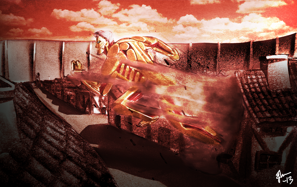 attack_on_titan___armored_titan_by_galaxyart-d64ue97.png Attack On Titan Survey Corps Iphone Wallpaper