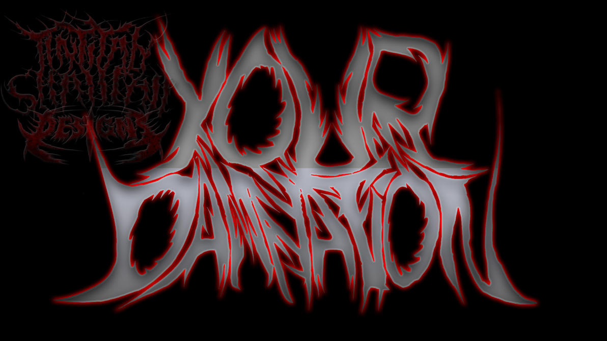 your damnation deathcore logo final by zombiefuzzwtf