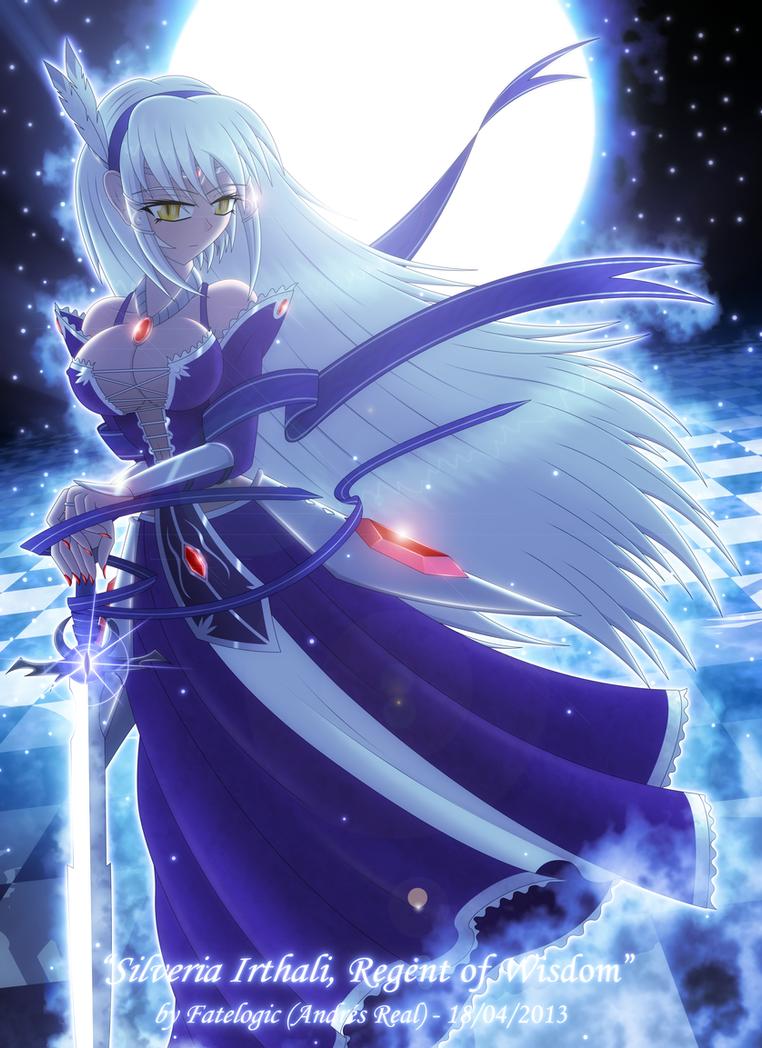 ''Silveria Irthali, Regent of Wisdom'' by Fatelogic