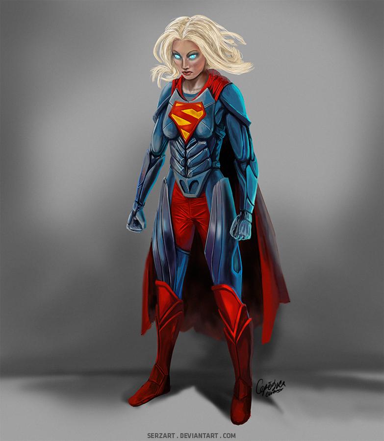 Supergirl concept art