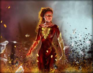 Phoenix by Serzart