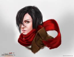 Mikasa Ackerman (realistic)