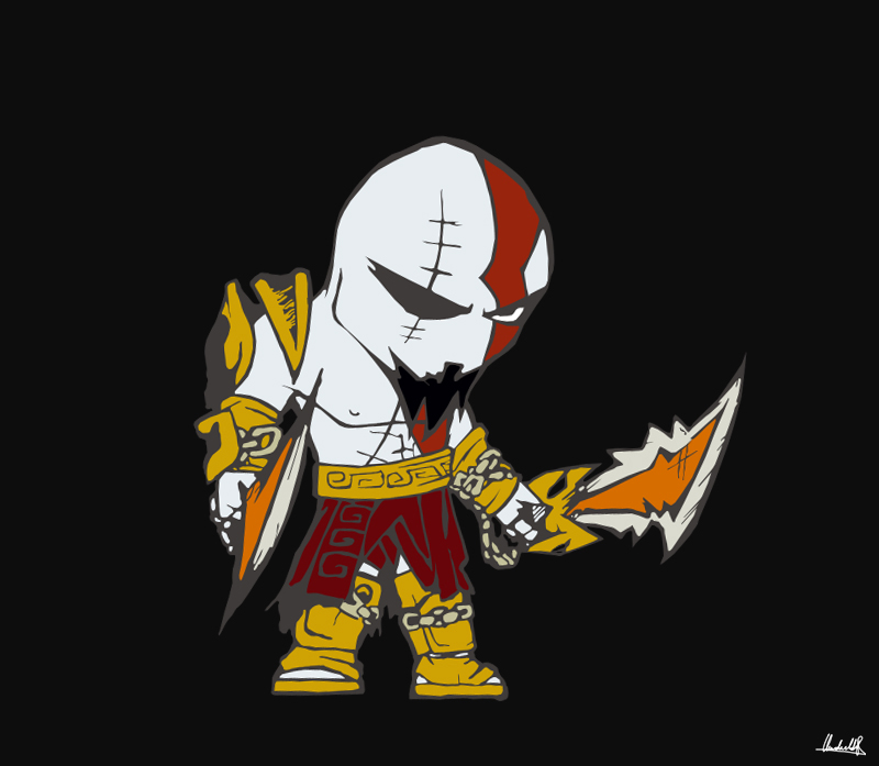 Kratos Vexel by SanityP