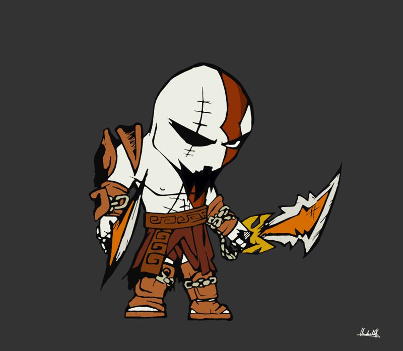 Kratos vexel - part II by SanityP