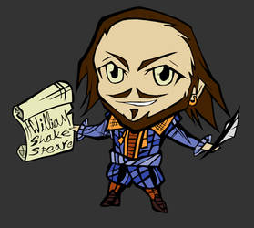 Shakespeare Chibi II - blue