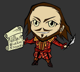 Shakespeare Chibi II - red