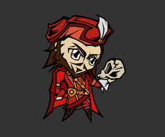 Shakespeare chibi - Hamlet II by SanityP