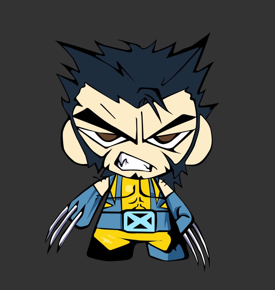 Wolverine Chibi by SanityP