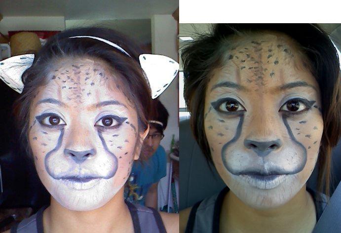 Stage Makeup: Animal by ~annam3lissa on deviantART