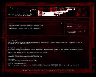 KVK Fan Club Website by rekiem