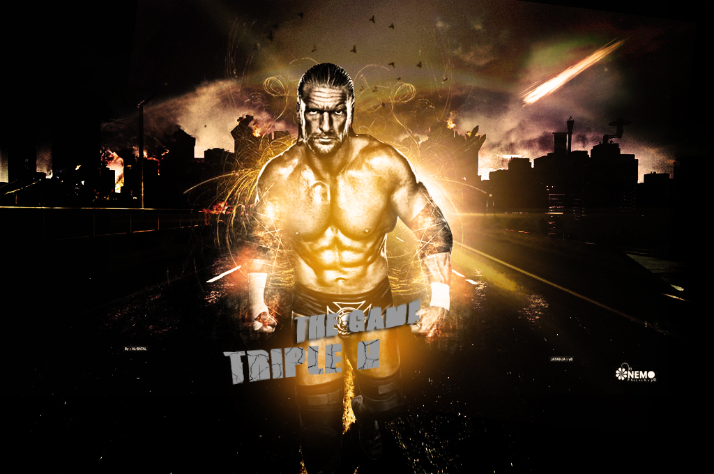 Triple H Wallpaper By AbdalahReda