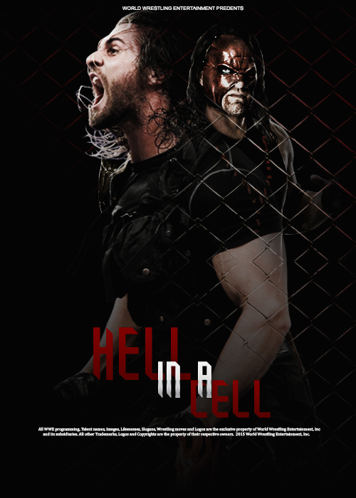 Hell In A Cell 2015 by abdalahReda