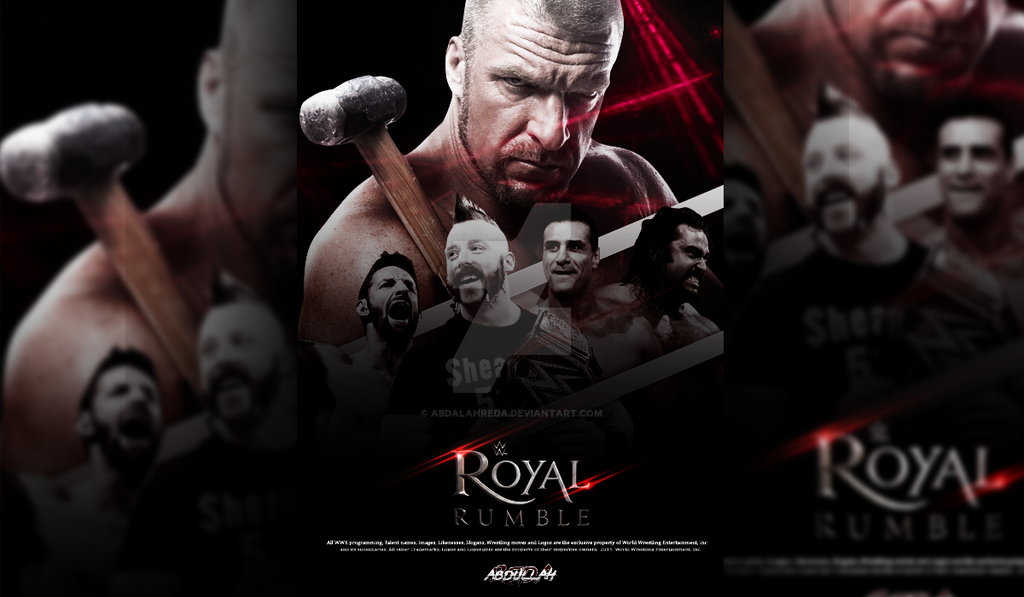 Royal Rumble 2016 Wallpaper By AbdalahReda