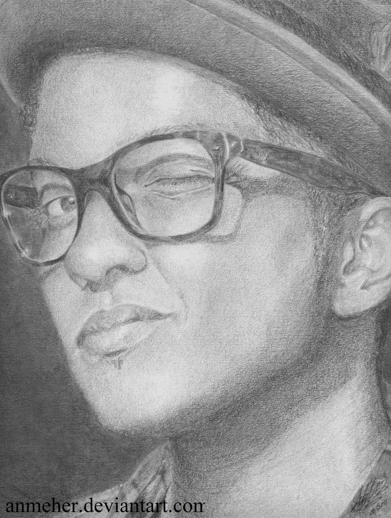 Bruno Mars by anmeher