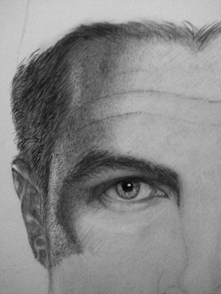 Oliver Queen WIP1 by anmeher