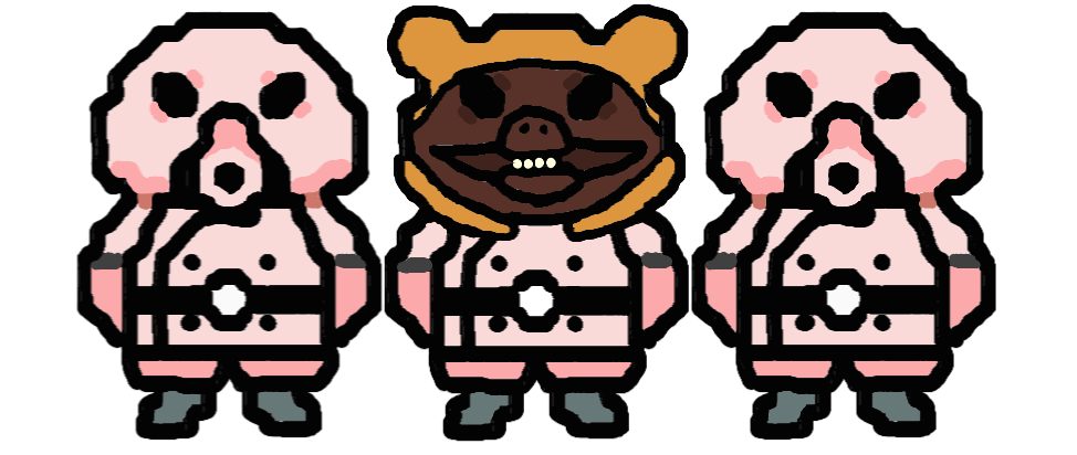 pigmask army reject by embercoral on deviantart