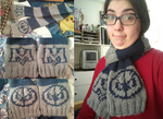 Meta Knight Scarf by embercoral