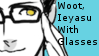 Ieyasu Got Glasses Stamp by Oushuu
