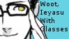 Ieyasu Got Glasses Stamp by Oushuu