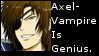 Sengoku BASARA Axel-Vampire Is Genius Stamp by Oushuu