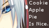 CookieApplePie Is Nice Stamp by Oushuu