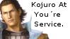 Sengoku Basara Kojuro At You're Service Stamp by Oushuu