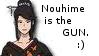Sengoku BASARA Nouhime is the gun Stamp by Oushuu