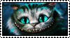 Request from xFluttershy18 Cheshire Cat Stamp by Oushuu