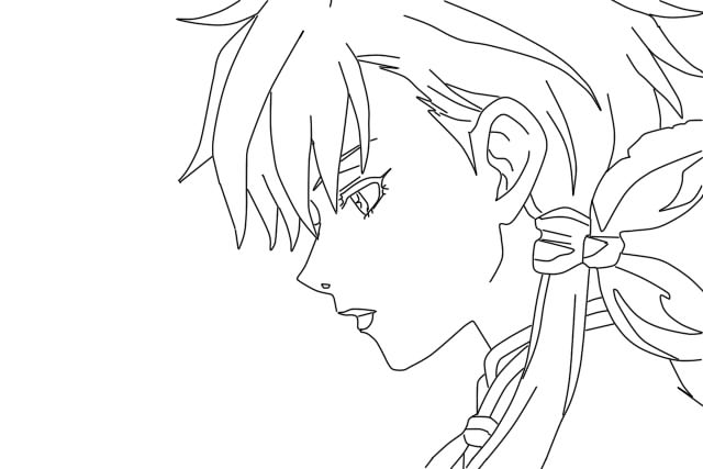 Blade and Soul - Aruka Lineart by Oushuu