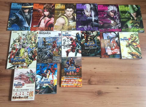 My Sengoku Basara Official Art Book Collection