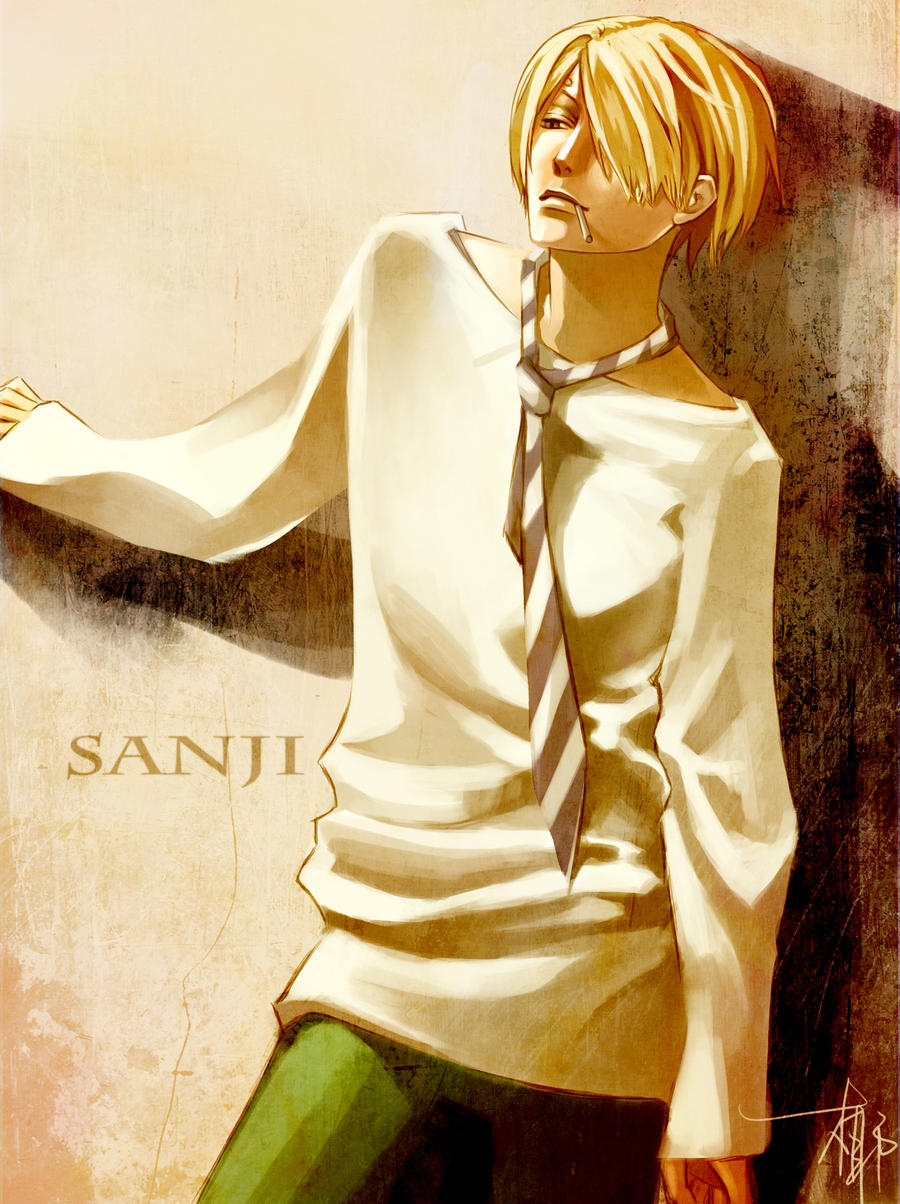 Sanji_Strong World Outfits by MMCoconut