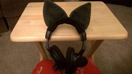 Furry Gaming Headset by Turismash
